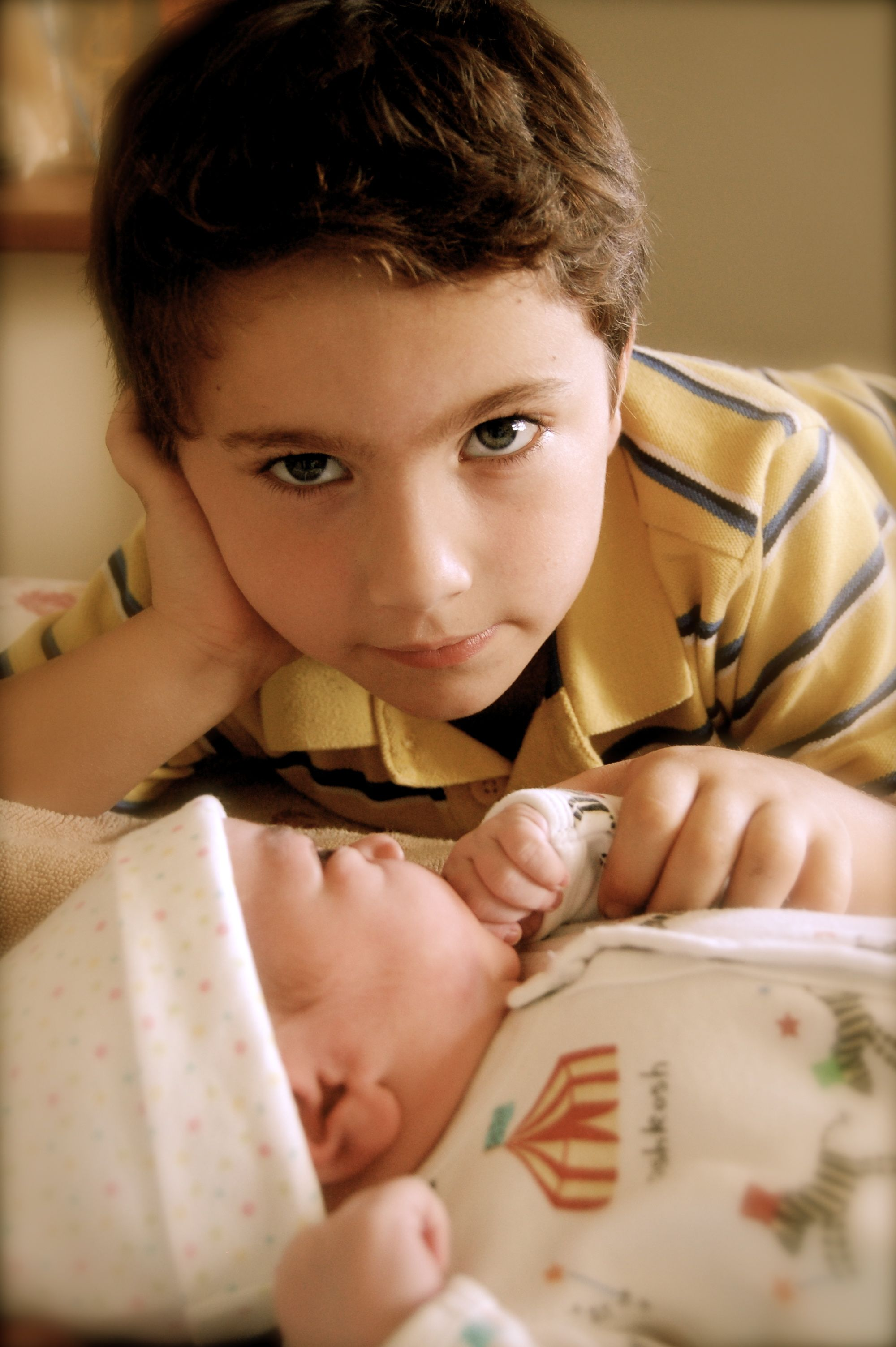 Midwifery Services Worland brother and baby