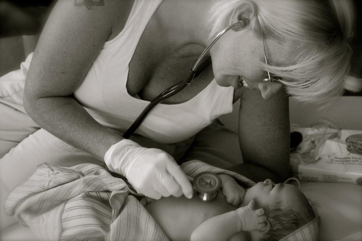 midwife worland newborn